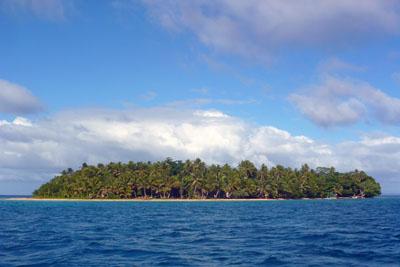 Rajska wyspa Caqalai - Fidżi